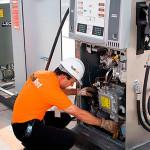 Monitoramento ambiental de posto de gasolina