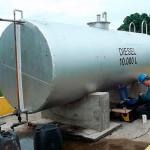 Inspeção de tanque de combustível