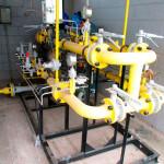 Teste de estanqueidade gás