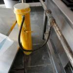 Teste de estanqueidade em tubulações de gás